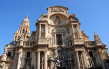 Murcia cathedral, Spain poster