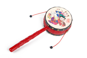 Chinese rattle drum