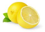 Fototapety Lemons isolated on white