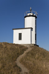 Lighthouse With Dirt Path