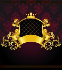 luxury vintage banner
