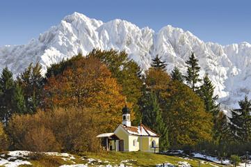 Kapelle Karwendel Herbst