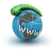Internet virus against earth