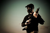 Airsoft player - 28397258