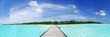 Leinwanddruck Bild - Maldives