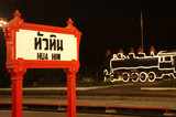 Hua Hin welcome sign