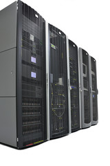 Racks in a datacenter
