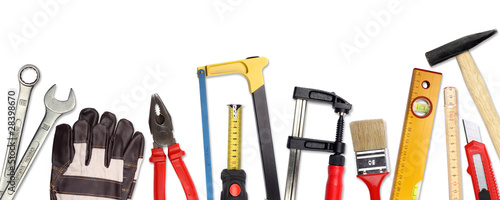 Leinwanddruck Bild tools II