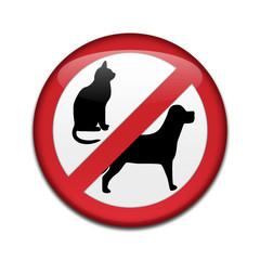 Chapa NO PETS