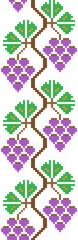 seamless good like handmade cross-stitch pattern