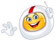 Astronaut emoticon - 28400627