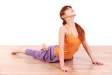 yoga cobra pose poster
