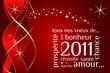 Carte de voeux nouvelle année 2011