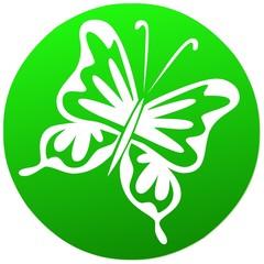 umwelt   icon . natur grün butterfly