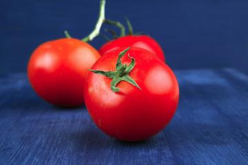 ripe fresh raw tomatoes