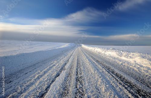 winter road - 28414401