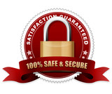 100% safe and secure award