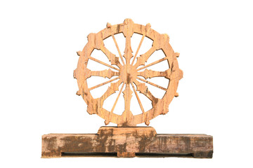 The stone wheel of law on wood