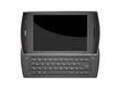 Black mobile smart phone - 3D render