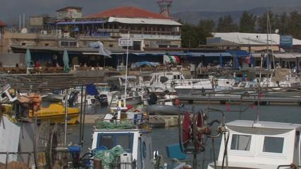Boats, port, Cyprus