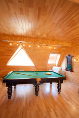room for billiards