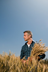 Farmer satisfaction at the harvest