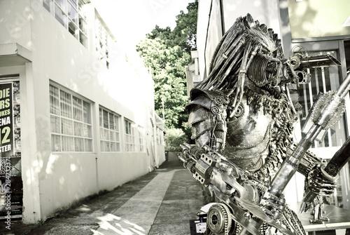 Poster Alien Invasion.Predator