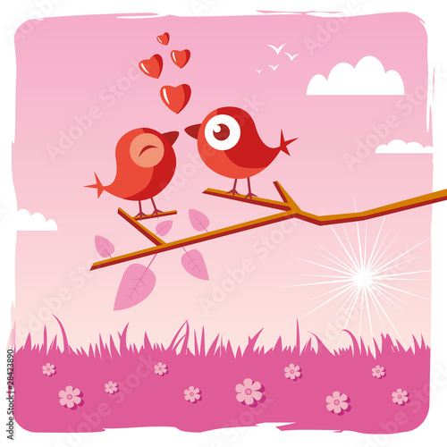 Love bird - Valentine's day