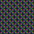 Seamless stylish multicoloured pattern.