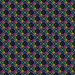 Seamless stylish multicoloured pattern.