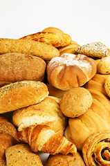 Fresh mixed bread