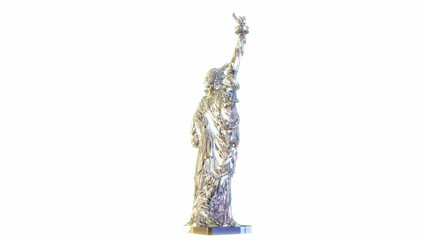Crystal Statue of Liberty