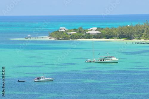 Papiers peints Amérique Centrale iles des abacos, Bahamas