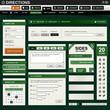 Web Design Element Green