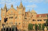 Victoria Terminus, UNESCO World Heritage Site, Bombay poster