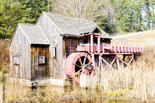 grist mill near Guilhall, Vermont, USA