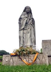 Saint Catherine Statue