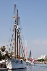 Ship in a Port, Barcelona