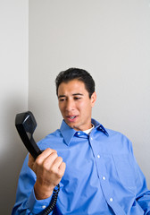 Angry Phone Call
