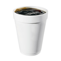 Disposable Coffee Cup (with clipping path)