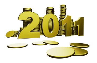 2011 monete