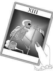 Carta dei tarocchi: 13 la morte