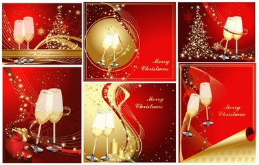 Merry Christmas background collections