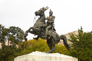 Statue of Andrew Jackson in Lafayette Square
