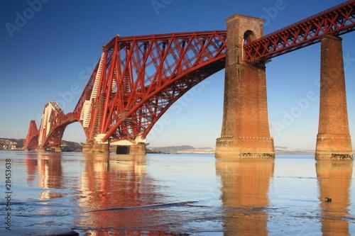 Forth Rail Bridge, Edynburg, Szkocja