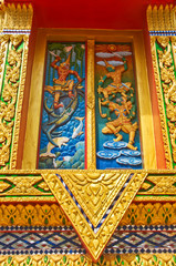 Decoration of Thai temple