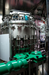 Italy wine: automatic bottling line