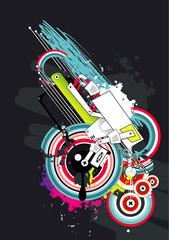 abstract vector illustration © chispas