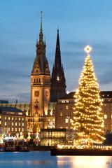 Hamburg Weihnachten Binnenalster 4
