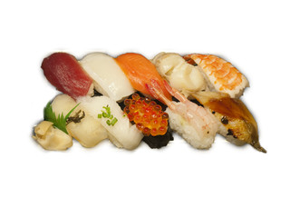 SUSHI assortment up